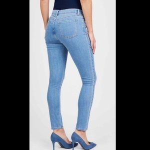 Juicy Couture Jeans - Juicy Couture Mid Rise Embellished Skinny Jean